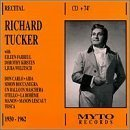 Richard Tucker Recital: Don Carlo/Aida/Simon Boccanegra/Un Ballo in Machera/Otello.La Boheme/Manon/Manon Lescaut/Tosca (1950-1962) by Richard Tucker