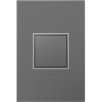 Legrand Adorne ARPTR201GM2WP - Pop-Out Outlet, 20AMP, 1-Gang with Matching Wall Plate