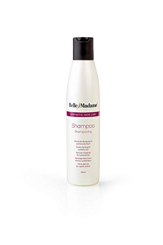 Dening Hair Belle Madame - Champú para pelucas sintéticas y extensiones de pelo (200 ml)