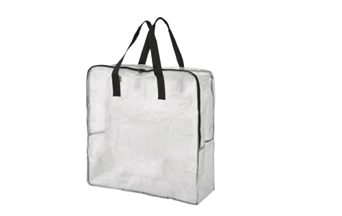 IKEA DIMPA 3 pcs Extra Large Storage Bag, Clear Heavy Duty Bags, Moth Moisture Protection Storage Bags