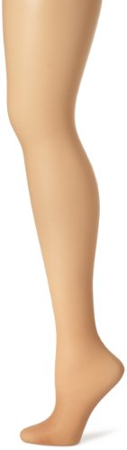 Hanes Women's Control Top Sheer Toe Silk Reflections Panty Hose, Little Color, E/F