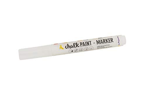 La Pajarita Rotulador Chalk Paint Blanco Nube