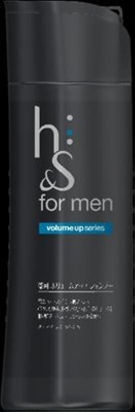波紋メジャー類似性h&s for men ボリュームアップ シャンプー ボトル × 10個セット