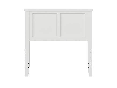 Atlantic Furniture Madison Headboard, Twin, White
