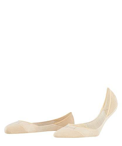 FALKE Damen Füßlinge Step - 92% Baumwolle , 1 Paar, Elfenbein (Cream 4019), Größe: 39-40