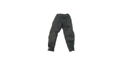 Hock Basic Design  - Pantaloni Adulti per Pioggia, Nero, XL