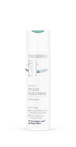 SIRIDERMA care Basisches Pflege-Duschbad | leicht duftend | 250 ml | Ohne Alkohol | Veganes Duschgel für extrem empfindliche Haut