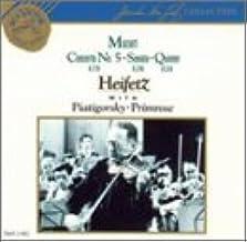 Mozart: Violin Concerto No. 5 K. 219, the Turkish / Sonata in B-flat K. 378 / Quintet in G minor, K. 516