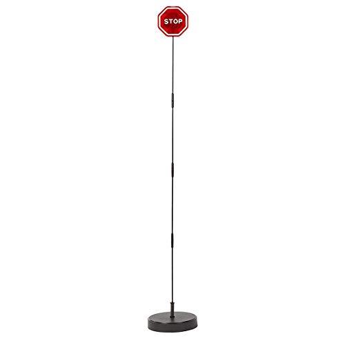 CENTAURUS Garage Parking Assist Led Flashing Garage Parking Sensor Perfect Target Indicator Parking Flashlight System with Adjustable Height Guide LED Stop Sign Bumper Sensor, Red (1 Pack)