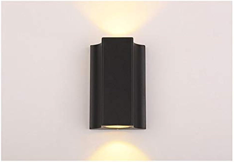 JDFM5 LED Wandleuchte wasserdicht, 20W Wandlampe Innen Design für Schlafzimmer Wohnzimmer Wandstrahler mit Metall Loft modern Stil Beleuchtung Wandlicht Bad Treppenhaus Wandleuchte