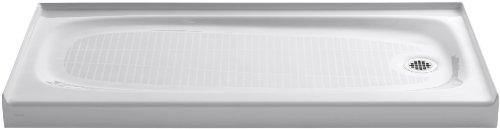Product Image of the KOHLER 9054-0 Salient Shower Receptor, White