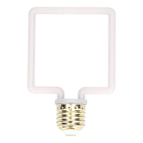 COHU Bombilla LED Vintage, lámpara Decorativa de luz cálida, Duradera y Estable, diseño Simple y Luces Decorativas únicas para Clubes y cafés