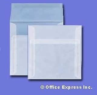 5 1/2 Square Invitation Envelope - 29# Clear Translucent (5.5 x 5.5) - Square Announcement Series (Pkg of 100)