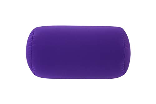 Comfort Pillow VIOLETT, LILA, Reisekissen, Nackenkissen, Nackenrolle, Nackenstütze, Kissenrolle Relaxkissen, Anti-Stress-Kissen, super soft, optimale Größe: 36 cm x 20 cm Ø, 315 g