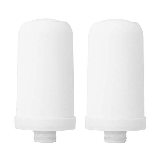 2PCS Wasserfilter Keramische Filterpatrone Ersatz Keramikfilter Kernpatrone Ersatz Wassersystem Filter, Keramikfilter Ersatz