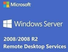 Windows Server 2008 RDS TS Remote Desktop Services - For Embedded Systems: 1 CALS Licences - Terminal Services