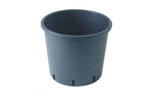 Macetero redondo de plástico 15 litros - Macetero cuadrado Maceta de cultivo