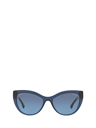 Chanel Luxury Fashion Damen CH5409C508S2 Blau Sonnenbrille | Frühling Sommer 19