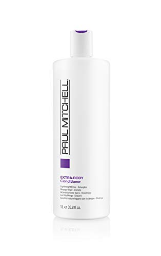 Paul Mitchell Extra-Body Conditioner - vegane Creme-Spülung ideal für feines Haar, Pflege-Conditioner verleiht Fülle, Glanz und Sprungkraft, 1000 ml