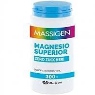 Massigen - Integratore alimentare Magnesio Superior Zero Zuccheri, 300g