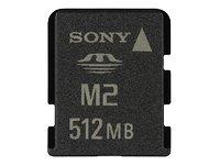 Sony 512 MB Memory Stick Micro M2 Speicherkarte