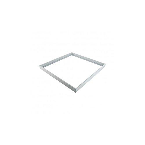 Vision-EL 773981 Kit Pose pour Plafonniers, Aluminium, Blanc, (L x I x H)-600 x 600 mm