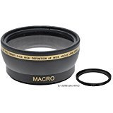 XIT For Sony - 58mm 0.43x Wide Angle Lens For Sony Cyber-Shot: DSC-HX400, DSC-H400   Digital Cameras
