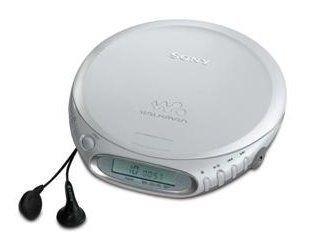 Sony D-EJ361 Personal CD Discman Walkman Lettore CD personale Argento