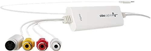 Elgato Video Capture (Videos digitalisieren und auf Mac, PC, iPad übertragen, USB 2.0) weiß