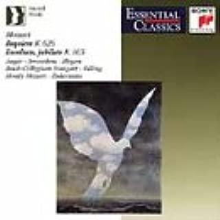 Mozart: Requiem K.626; Exsultate, Jubilate K.165
