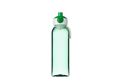 Rosti Mepal 107450092600 - Botella de agua campus (500 ml), color rojo, PCTG, Green, 6,4 x 7 x 22,2