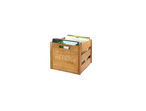 Victrola Custodia Valigia Vintage porta vinili 70 pezzi LP - Legno