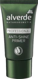 alverde NATURKOSMETIK Make-up Primer Professional Anti-Shine Primer, 1 x 30 ml