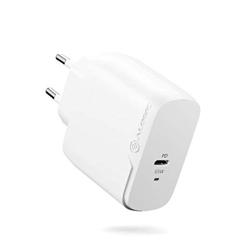 ALOGIC Cargador de Pared USB-C, Cargador USB C 65 W con tecnología GAN Fast, Cargador PD Power Delivery 3.0 para MacBook Pro Air / M1 Mac, XPS, iPad Pro, iPhone 12/12 Pro, Galaxy, Pixel y más