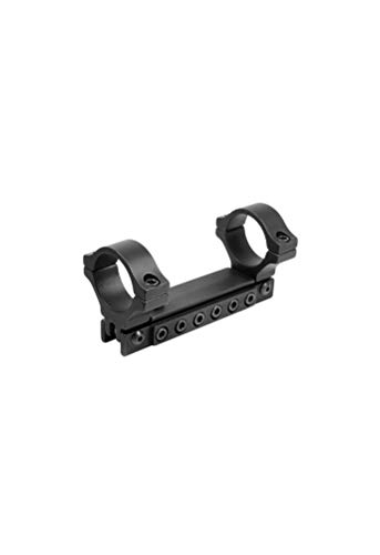 BKL 1-Pc Adjustable Scope Mount, 1 Rings, 3/8 Dovetail, Black by BKL