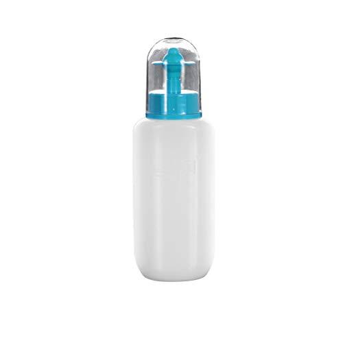 Healifty - Botella de lavado de nariz de 300 ml para riego nasal, enjuague de nariz, limpiador nasal, artículo de aseo