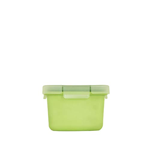 Valira Porta-Alimentos, Verde, 10 X 10 X 7 Cm