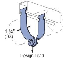 "Genuine Unistrut P1426-EG 1/2"" Thin Wall Conduit (EMT) Pipe Strut Clamp for All 1-5/8"" Strut Channels"