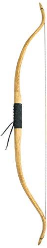 by Beier Germany Universal Strongbow Akai Recurvebogen Zuggewicht mit Ledergriff, Antik, 50 Zoll (35 lbs)