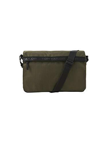 TOM TAILOR Herren Taschen & Geldbörsen Messenger Bag Matteo Khaki/Khaki,OneSize