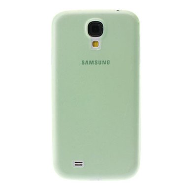 Transparent Ultrathin Soft Case for Samsung Galaxy S4 I9500 Green