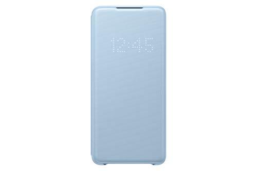 Samsung LED View Smartphone Cover EF-NG985 für Galaxy S20+ | S20+ 5G Handy-Hülle, LED-Anzeige, Kartenhalterung, blau
