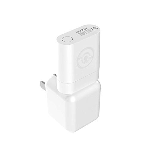Lockly Secure LINK Wi-Fi Smart Hub (PGH200) | ETL Certified | Works with All Lockly Smart Locks | Compatible with all USB Power Ports | Plug and Play Install
