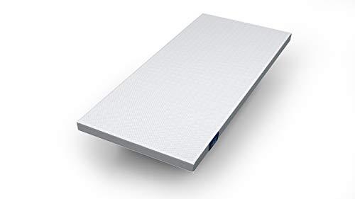 Genius Eazzzy Topper (90 x 200 x 7 cm) als Matratzenauflage für Matratzen & Boxspringbetten Viskoelastischer Matratzentopper für Allergiker (weitere Größen erhältlich)