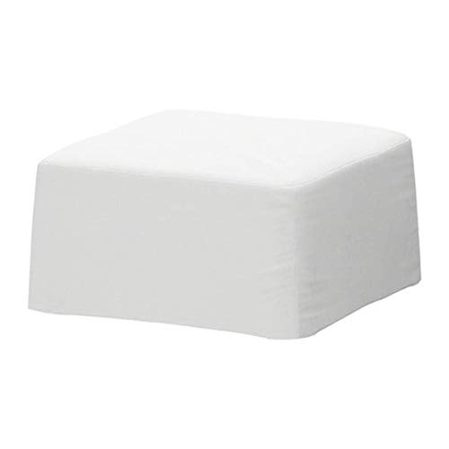 Ikea Nils 101.299.55 - Funda para Taburete, Color Blanco