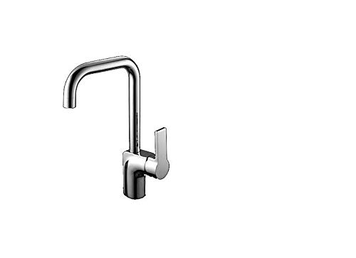 Küche Bad Wasserhahnküchenarmatur - Einhandgriff Einloch Chromstange/Vorbereitungsplattform