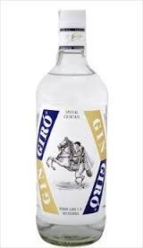 Botellita miniatura gin Giro 5cl