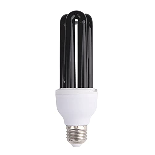 UV Ampoule E27 40W pour Soirées, Lumiere Noire, UVA 365NM, A