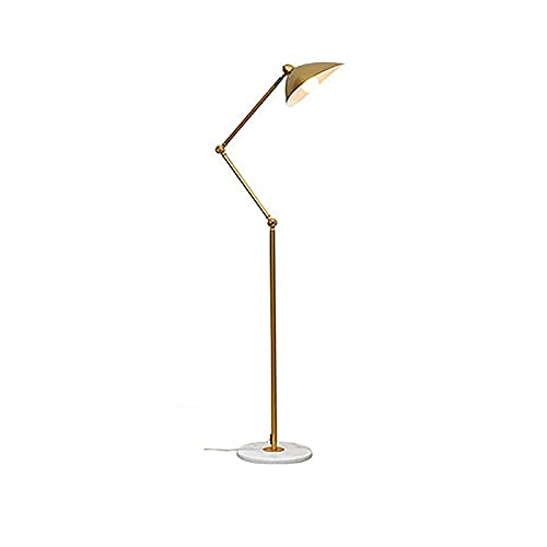 LUOD-YJ Lampara de pie Lámpara de pie Nórdica Post-Moderno Lámpara de pie Lámpara de pie Lámpara de pie Estudio Lámpara Vertical Lámpara de pie de Cama lámpara de suspensión (Color : Yellow)