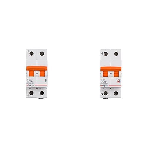 Legrand 419926E Interruptor Automático Magnetotermico + 419925E Interruptor